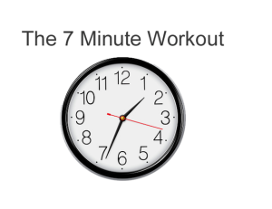Is The Seven Minute Workout Good For Grownups?